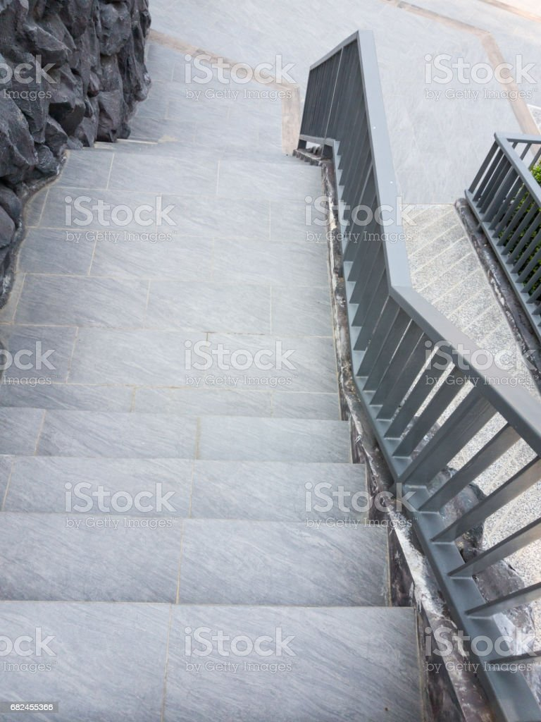 staircase and ramp for wheelchair 免版稅 stock photo
