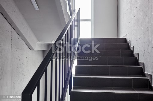 staircase, construction, structure, light, way, stairs, ladder, interior, railing, exit, fire, evacuation, office, down