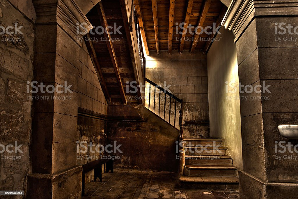 Staircase Heritage stock photo