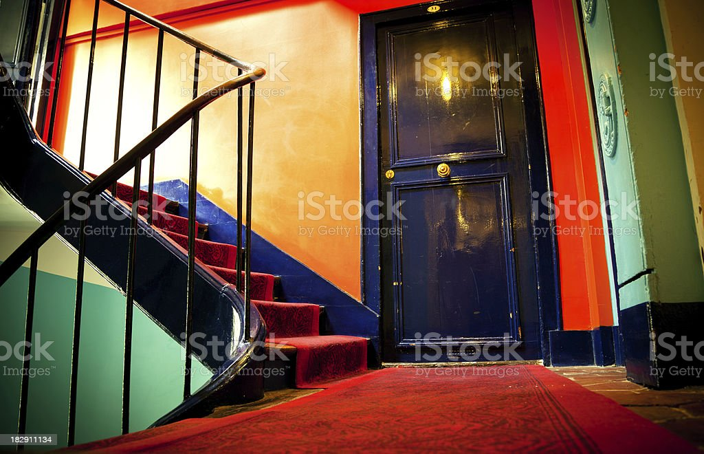Staircase in a Hotel foto