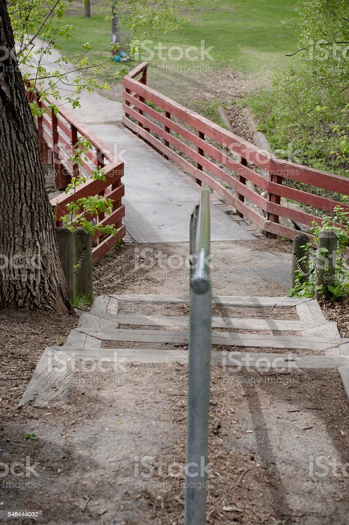 Staircase In Nature Path Stock Photo - Download Image Now - iStock