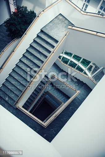 istock staircase in public places 1176665578