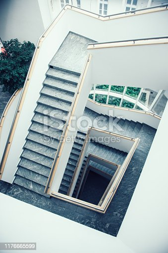 istock staircase in public places 1176665599