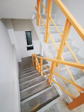 The Old Office Fire exit stairs