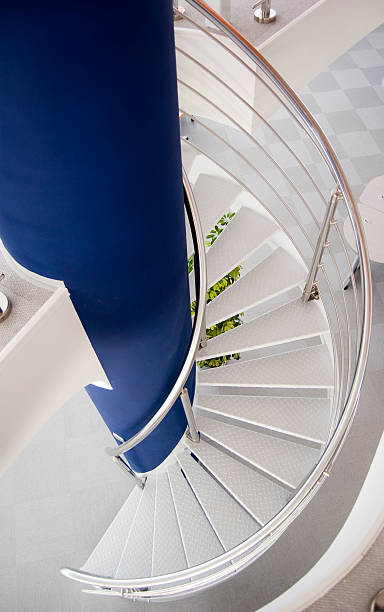 Staircase. stock photo