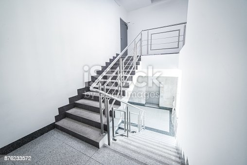 staircase - the top floor of an office building