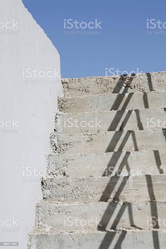 Escalera de caracol foto de stock libre de derechos