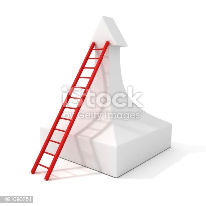 1062884120istockphoto staircase success ladder to the top of growing arrow 461090251