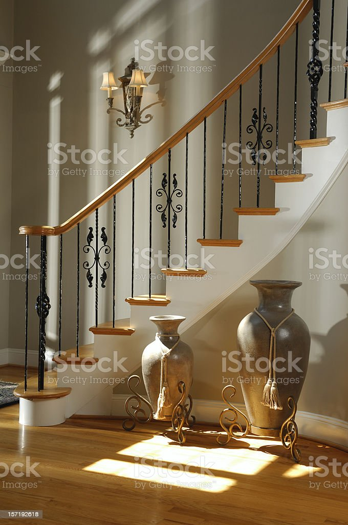 Staircase & Sunlight royalty-free stock photo