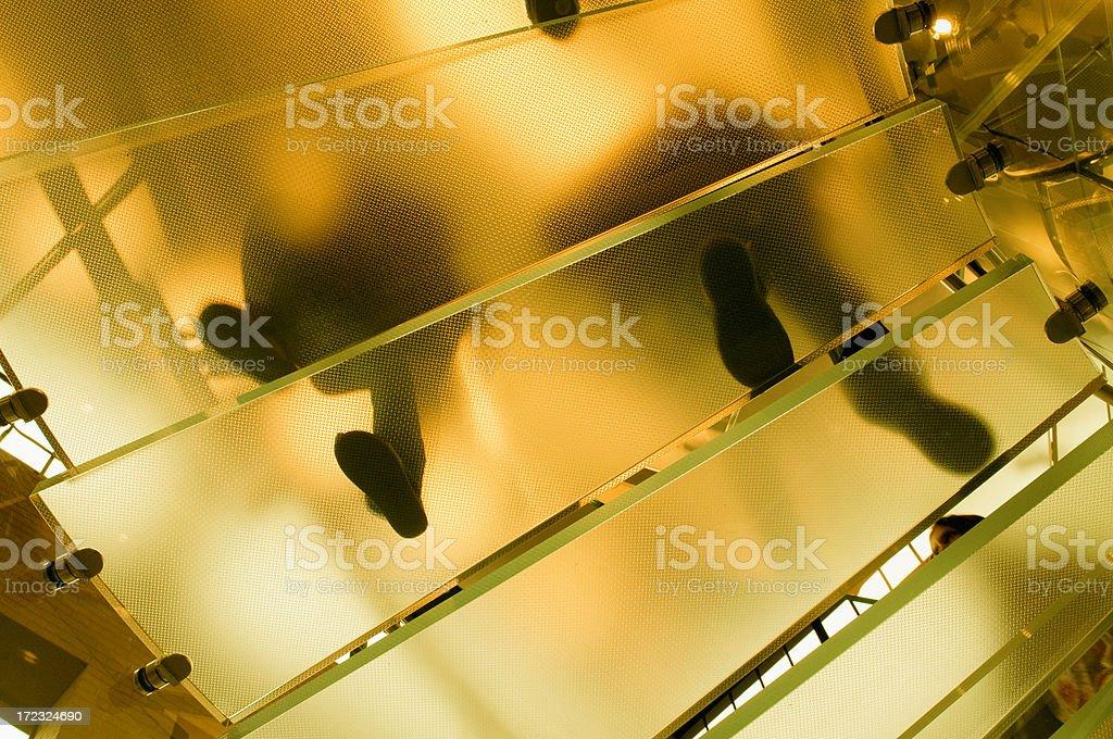 Treppe, NYC. – Foto