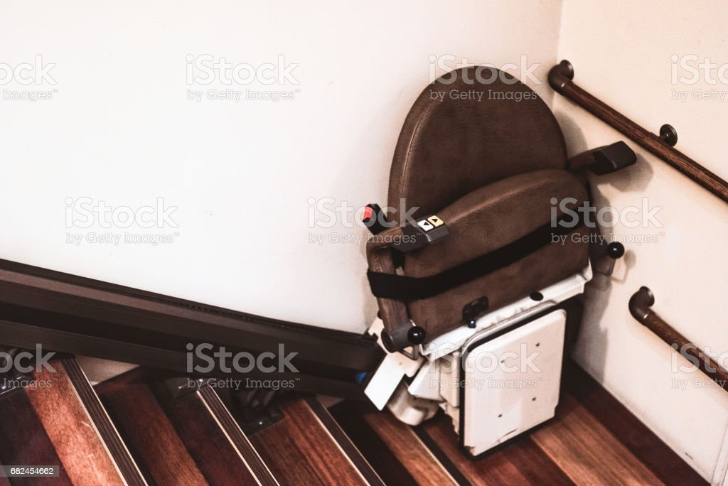 Stairlift royalty-free stock photo