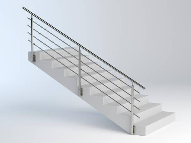 Treppen und Edelstahlgeländer – Foto