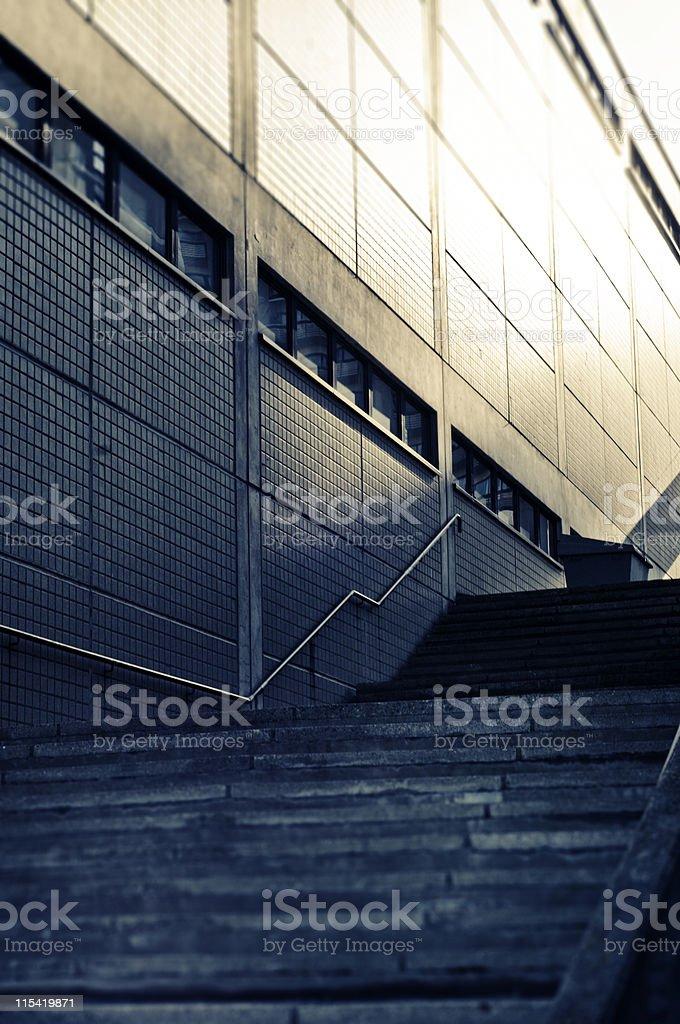 stairs at Merihaka royalty-free stock photo