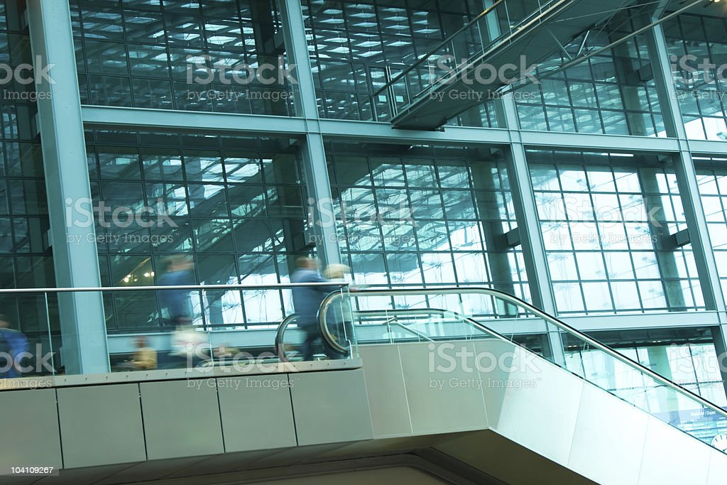 Stairs at Railway Station royalty-free stock photo
