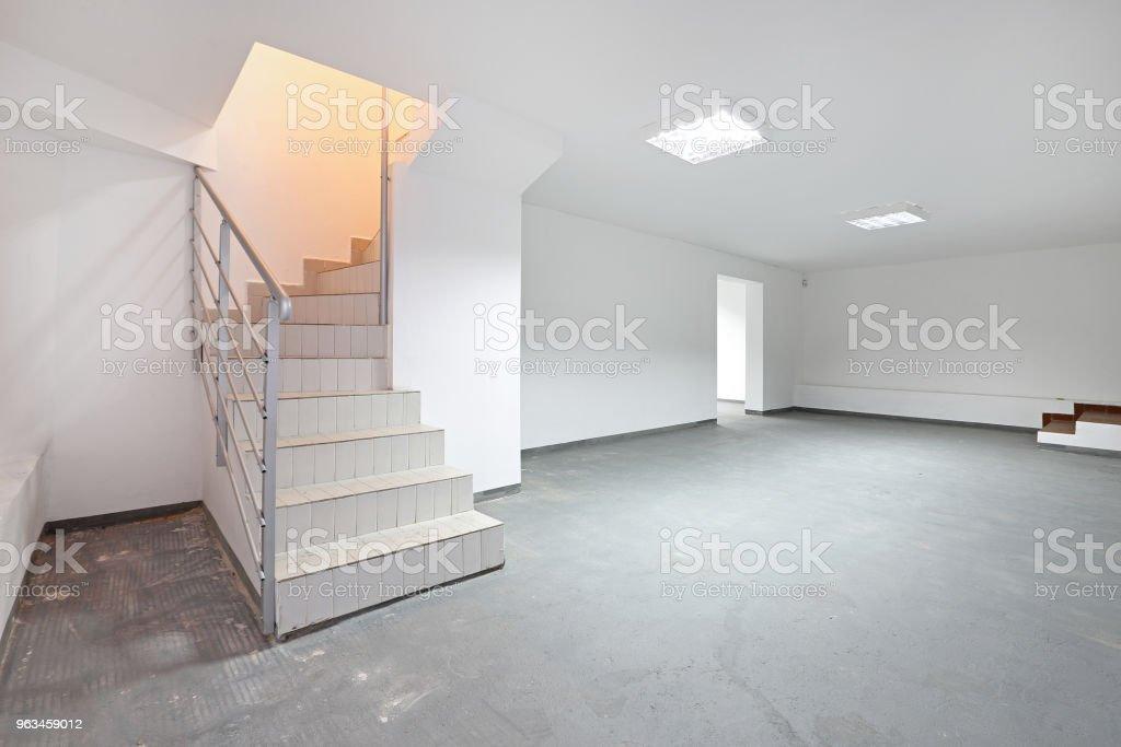 Stairs Basement stock photo