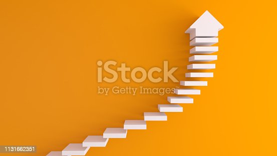 istock Stairs concept 1131662351