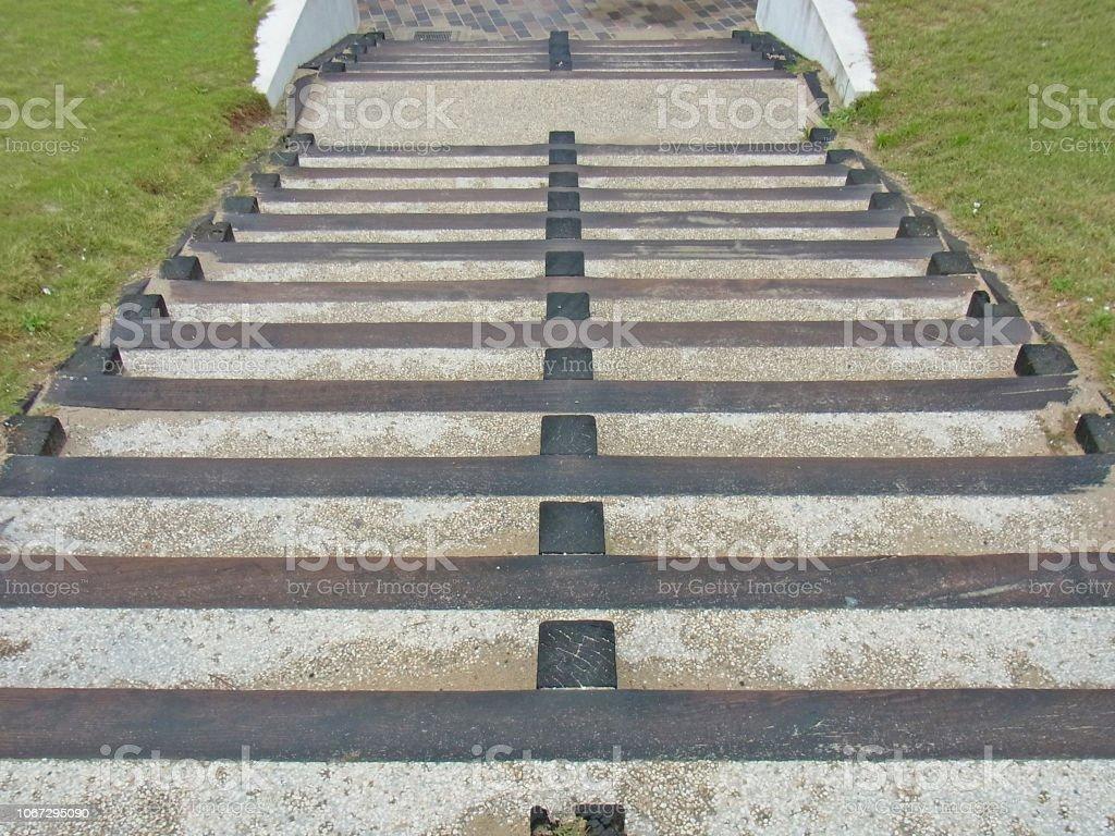 階段上から ストックフォト
