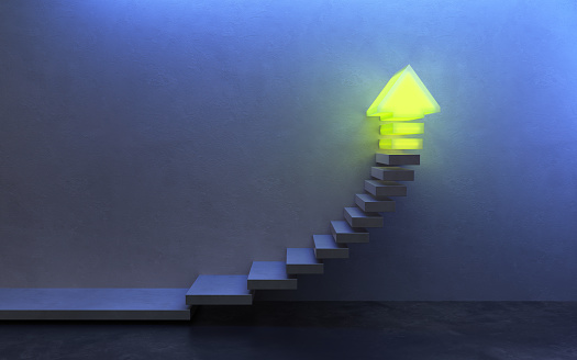 1062884120 istock photo stairs going  upward, 3d rendering 1207580315