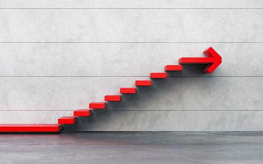 1062884120 istock photo stairs going  upward, 3d rendering 1219753517