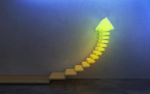 1062884120 istock photo stairs going  upward, 3d rendering 1251675612