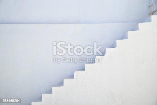 istock Stairs in Santorini, Greece 538165264