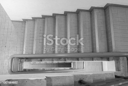 istock Stairs in the building 1007664652