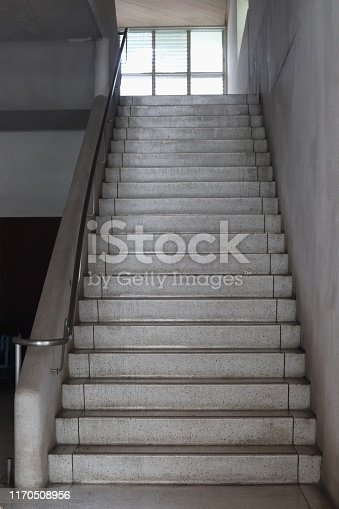 Stairs in the old building