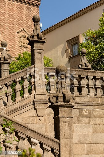 Stairs in the Spanish Village,Barcelona
