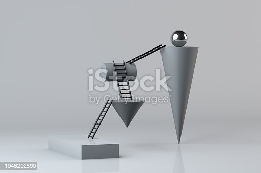 istock Stairs, Ladder of Success Concept 1048202890