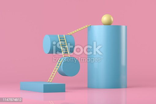 istock Stairs, Ladder of Success Concept 1147574512