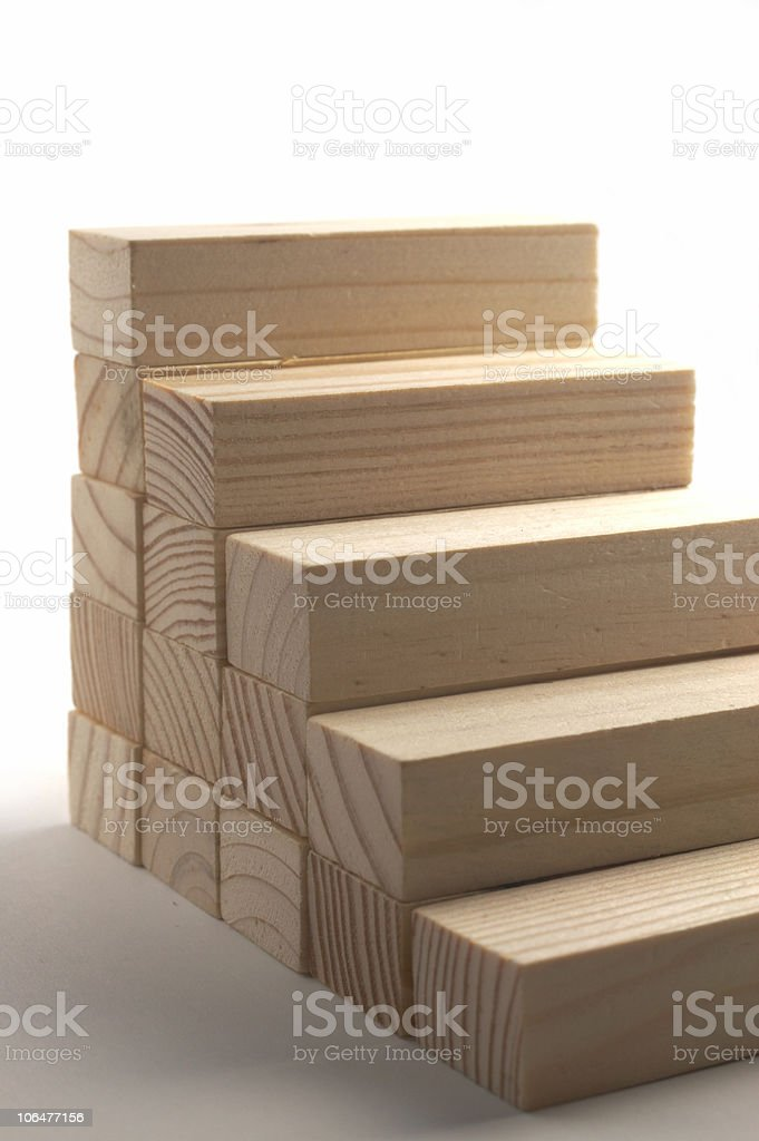Stairs of progress royalty-free stock photo