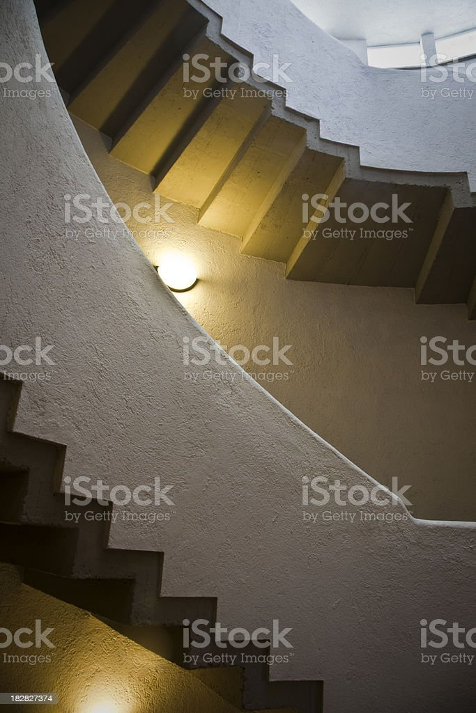 Stairs rustic stock photo