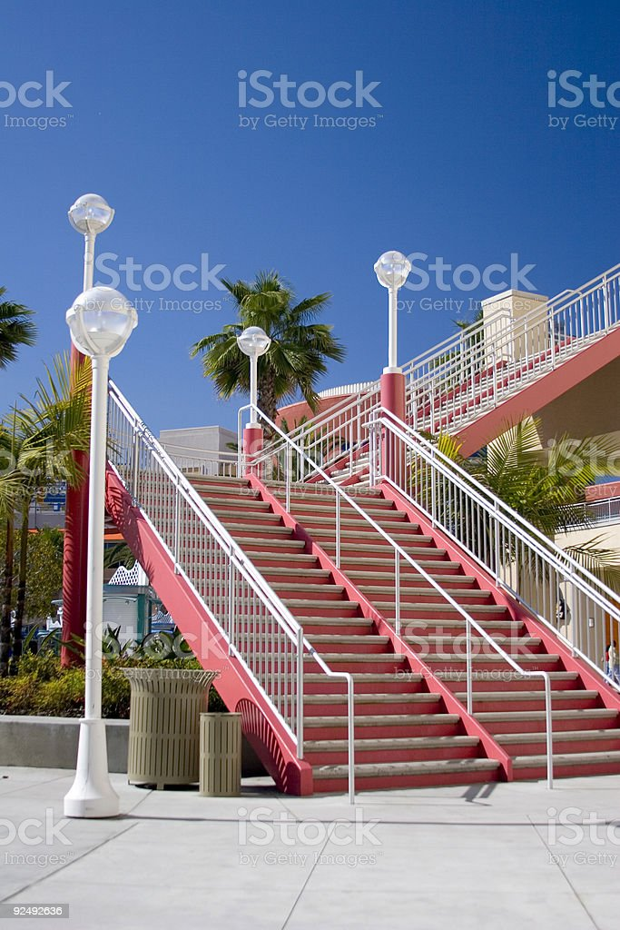stairs scape royalty-free stock photo