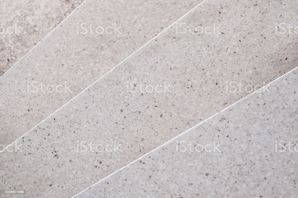 Stairs Terrazzo Polished Stone Walkway And Floor Pattern And Color Surface Marble And Granite Stone Material For Decoration Background Texture Interior Design Selective Focus Stock Photo Download Image Now Istock