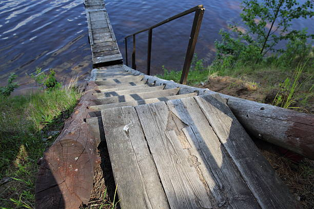 Treppe mit den Zeiger – Foto