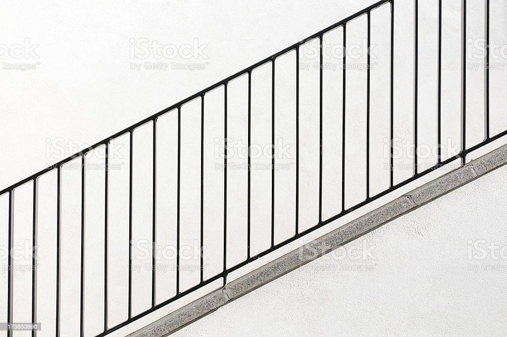 Stairway in sunlight royalty-free stock photo