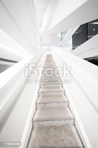 istock Stairway leading up 1126695098