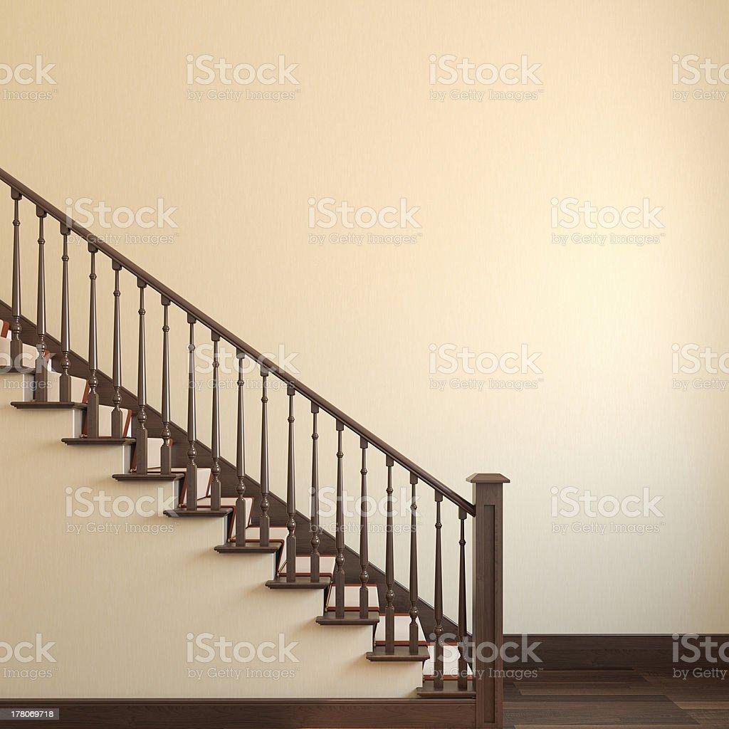 Stairway. royalty-free stock photo