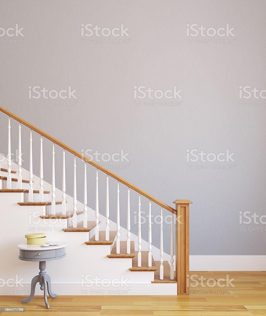 Stairway. stock photo
