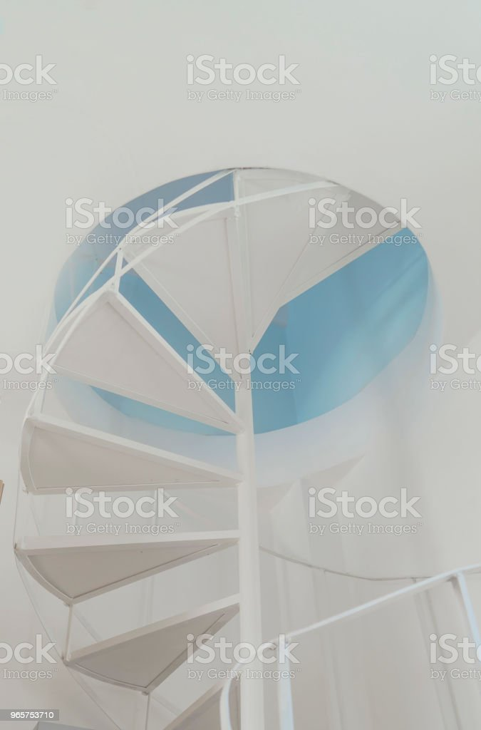 Stairway - Royalty-free Greece Stock Photo