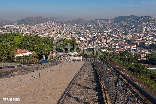 587773316 istock photo Stairway to Favelas 587551480