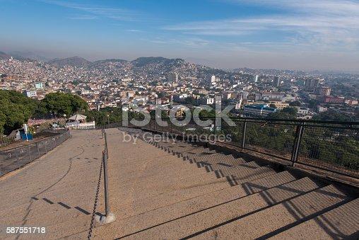 587773316 istock photo Stairway to Favelas 587551718