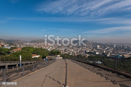 587773316 istock photo Stairway to Favelas 587551818