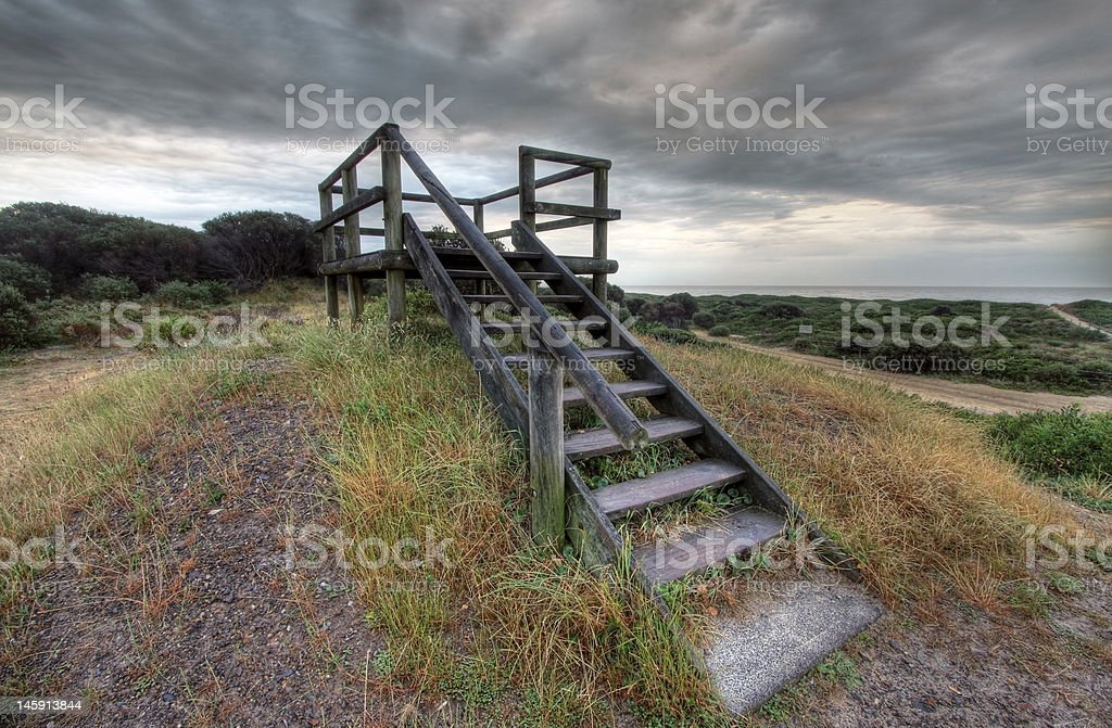 Stairway to heaven royalty-free stock photo