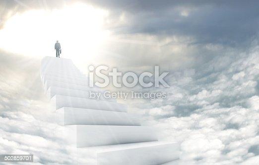 istock Stairway to heaven 502859701