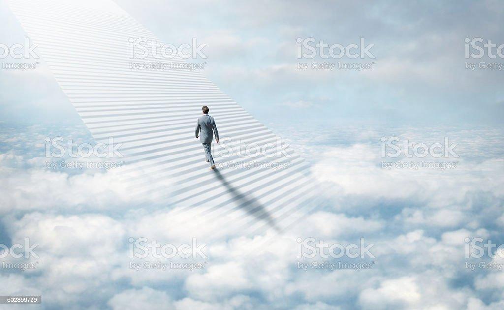 Fotografía de Escalera Hacia El Cielo y más banco de imágenes de ...