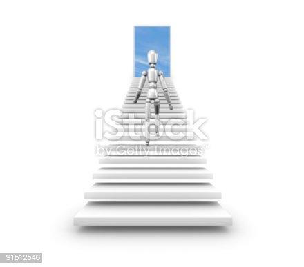 istock Stairway to new oppurtunities 91512546
