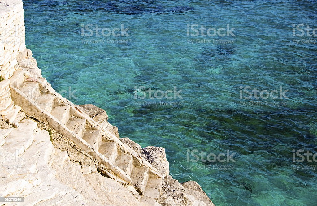 Stairway to paradise royalty-free stock photo