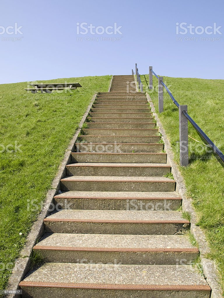 stairway to... royalty-free stock photo