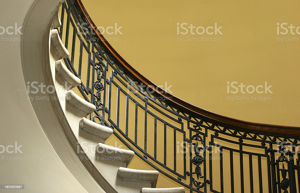 Stairway to the Dome stock photo